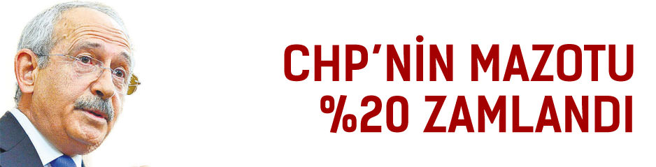 CHP?den iki seçim arası yüzde 20 mazot zammı