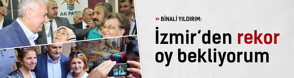 Yıldırım 1 Kasımda İzmirden rekor bekliyorum