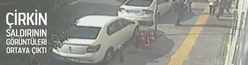 Gazetemize yapılan çirkin saldırının görüntüleri
