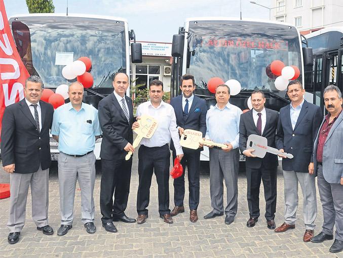 Anadolu Isuzu Novociti ile Aydın'da