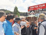 MHP'li eski başkan Cemevi'nden uğurlandı