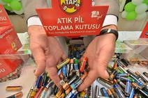 İzmir atık pil toplama da rekor bekliyor